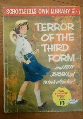 Schoolgirls Own Library No 387 -Terror Of The Third Form-1962