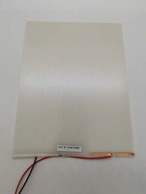 15cmx20cm Smart Film Starter Electrochromic PDLC Switchable Glass Film w/Cable