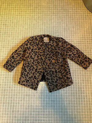 Next Girls Smart  Winter Coat Age 2-3 Years - Excellent Condition