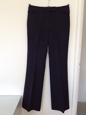100% high quality website for discount best cheap 1628) WALLIS BLACK Bootcut Leg Trousers - Size 10 L32