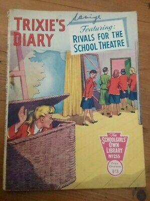 SchoolGirls Own Library No 255-Trixie's Diary-Rivals For The School Theatre