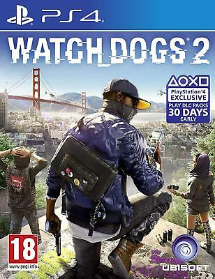 Watch Dogs 2 (PS4 Game) *NEW & SEALED*