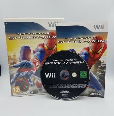 The amazing Spider Man Nintendo Wii Compatible WiiU - Edition Française