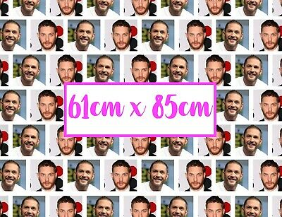 Personalised Photo Birthday Wrapping Paper. Large A1 size