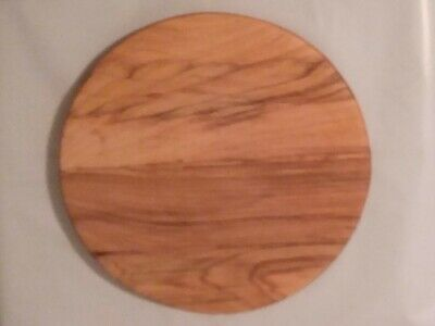 Handmade Hickory Wood Solid Round Cutting Board