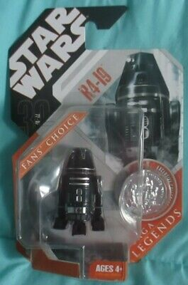 R4-I9 Droid 2007 STAR WARS Saga 30th Anniversary Saga Legends Black Droid 3.75
