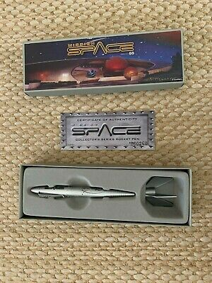Walt Disney World Epcot Mission Space Collectable Rocket PenWith Base & With Box