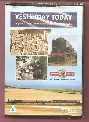 Yesterday Today. A year in the life of the North Norfolk Railway DVD NEW- SEALED