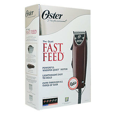 Oster Fast Feed Adjustable Blade Clipper 76023-510; Powerful Whisper Quiet Motor