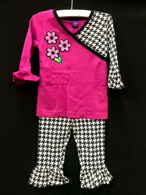Pete the Cat Toddler Girls Pink Pajamas Sweet Tooth Size 4T NWT