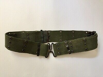 Vietnam War, U.S. M-1956 Pistol Belt horizontal weave. (early m56) L Long