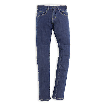 New Dainese Ducati Company 2 Technical Jeans Woman's 29 Blue #981031129