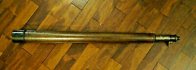 Late 19th early 20th century Military Naval Civil Spotting Telescope single draw