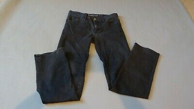 Boys Black Jeans Gap Size 16 Regular Straight Leg
