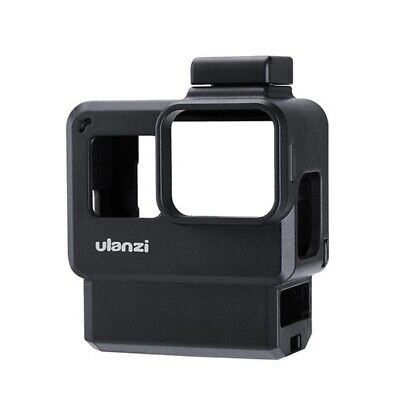 Ulanzi V2 Pro Sports Camera Vlog Protective Cage with 52MM Filter Microphon J6Y4