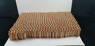 Quarter 25 Cent $10 Coin Rolls Preformed Tubular Shotgun Tubes 458 Wrappers