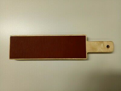 Wooden Strop Double Sided Leather Rebated Plywood