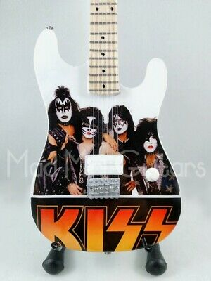 Miniature Guitar KISS with free stand