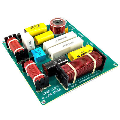 300W 3 Way Hi-Fi Speaker Frequency Divider Crossover Filters ^