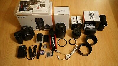 Canon EOS 80D DSLR Camera EF-S 18-135mm F/3.5-5.6 IS USM Lens with Accessory...