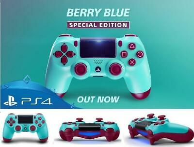 Playstation 4 PS4 BERRY BLUE Dualshock Wireless Controller Wireless Bluetooth V2