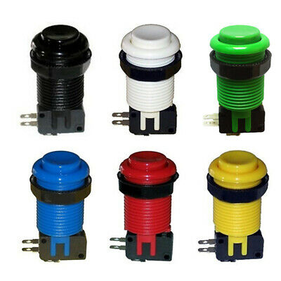 6pcs HAPP Long Style Push Button with micro-switch for Arcade MAME game DIY