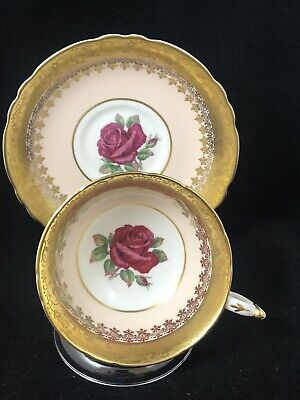 Paragon Floating Rose Cup & Saucer