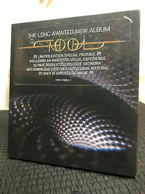 Tool Fear Inoculum Album Deluxe Limited Edition Trifold CD HD Pack Video New