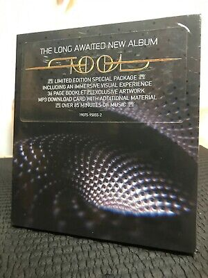 Tool Fear Inoculum Album Limited Edition Trifold CD HD Pack Video 2019 Sealed