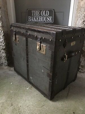 A Vintage British Trunk by Burton Brothers