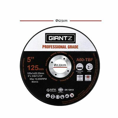 "Giantz 50 x 5"" Cutting Disc 125mm Metal Cut Off Wheel Angle Grinder Thin Steel"