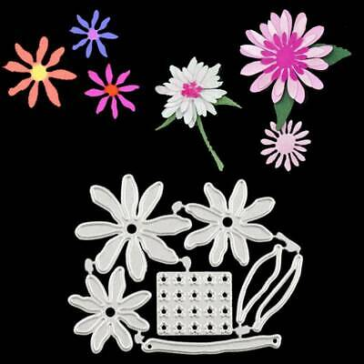 3D Daisy Flower Carbon Steel Die Cutting Dies DIY Scrapbooking Photo Album Decor