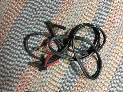 Jumper Cables 12 feet Long All Cooper, Tangle Proof