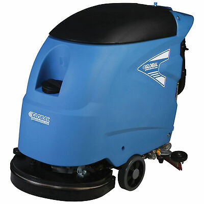 "Corded Electric Auto Floor Scrubber with 18"" Cleaning Path"