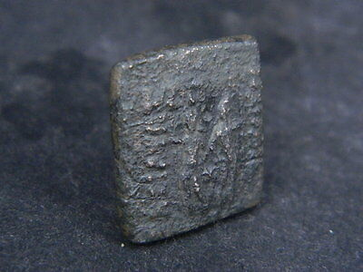 Ancient Bronze Coin Bactrian 100 BC #GL1601