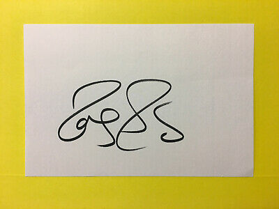 ROGER FEDERER Tennis Pro.! Hand Signed Autographed 4X6 Card RARE NO INSCRIPTION