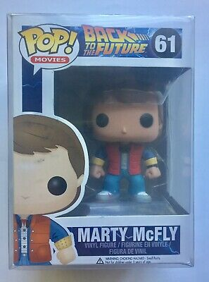 Funko POP! Movies Back to the Future MARTY MCFLY Vinyl Figure #61