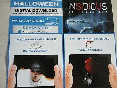 Halloween, IT, The Nun, Insidious 4 Horror Download Codes for Google Play