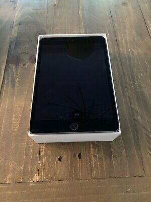 Apple iPad Mini (5th Generation) 64GB, Wi-Fi + 4G (Unlocked), 7.9in - Space Grey