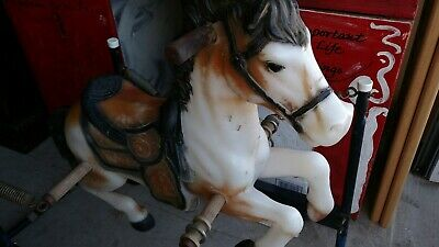 1960s VTG Classic Flexible Flyer Rocking Horse DISCOUNTED!