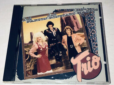 Trio Dolly Parton Linda Ronstadt Emmylou Harris Country Music CD 3T