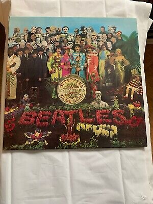 The Beatles - Sgt Peppers  -Vinyl Record - PCS 7027- Stereo