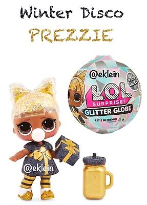 New LOL Surprise Doll Glitter Globe Winter Disco *PREZZIE*