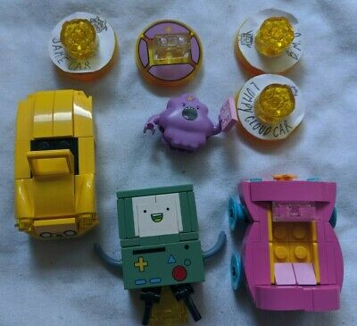 Lego Dimensions Adventure Time Level Pack Minifigures and Disc Lot