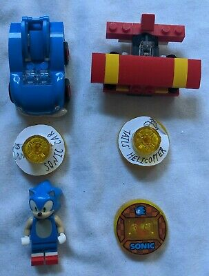 Lego Dimensions Level Pack Disc + Minifigures Sonic the Hedgehog 71244