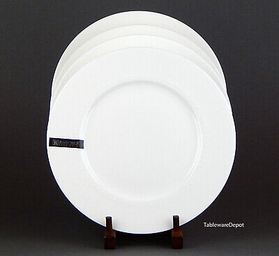 Roscher & Co. HOBNAIL (Bone China), Set of 2 Dinner Plates, SUPERB+ Condition!