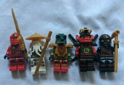 Lego Dimensions Level Pack Minifigures - Ninjago and Legends of Chima