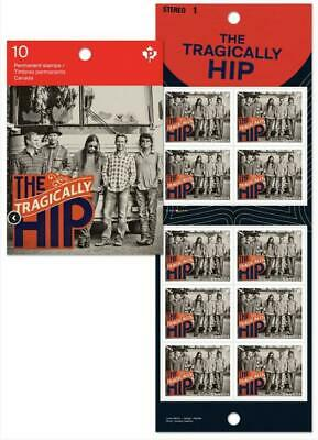 2013 Canada The Tragically Hip: Booklet of 10 Stamps Gordon Downie Rock Music