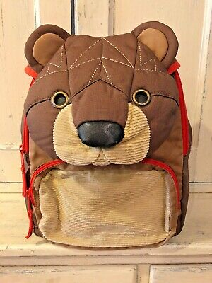 Baby Gap Toddler Bear Backpack Zip Closure One Size