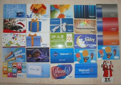 1 Walmart GIFT CARD COLLECTIBLE NO $ VALUE COLLECTOR